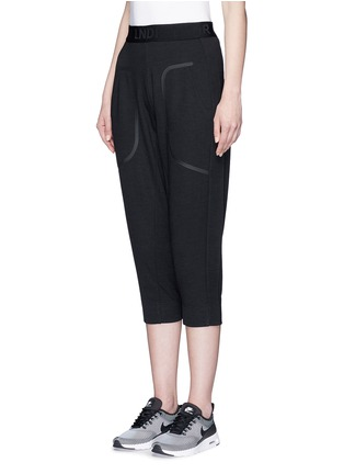 Front View - Click To Enlarge - 72883 - 'Pluto' cropped track pants