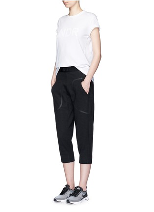 Figure View - Click To Enlarge - 72883 - 'Pluto' cropped track pants