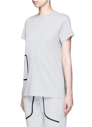 Front View - Click To Enlarge - LNDR - 'Pocket' marled jersey T-shirt