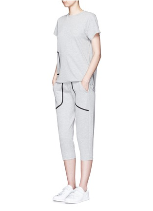Figure View - Click To Enlarge - LNDR - 'Pluto' cropped track pants