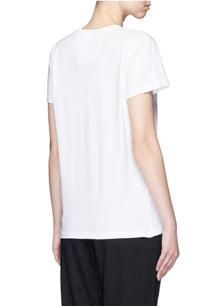Back View - Click To Enlarge - 72883 - 'Classic' organic cotton jersey T-shirt
