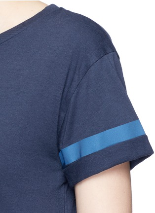 Detail View - Click To Enlarge - LNDR - 'Reflective' cotton jersey T-shirt