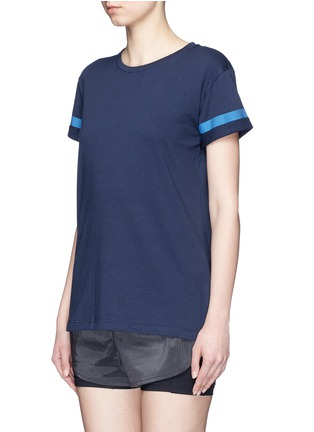 Front View - Click To Enlarge - LNDR - 'Reflective' cotton jersey T-shirt