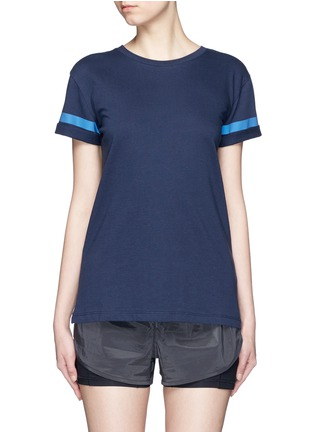 Main View - Click To Enlarge - LNDR - 'Reflective' cotton jersey T-shirt