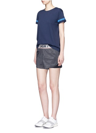 Figure View - Click To Enlarge - LNDR - 'Reflective' cotton jersey T-shirt