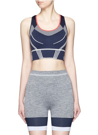 Main View - Click To Enlarge - 72883 - 'Squad' circular knit sports bra