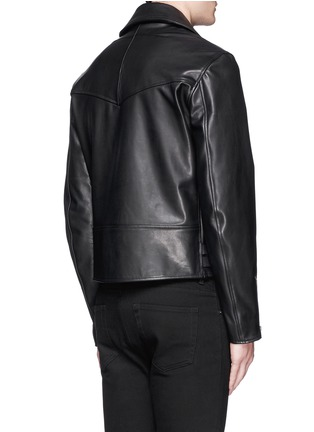 Back View - Click To Enlarge - Givenchy - Leather biker jacket