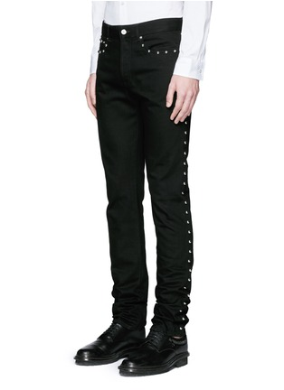 Front View - Click To Enlarge - Givenchy - Stud denim jeans