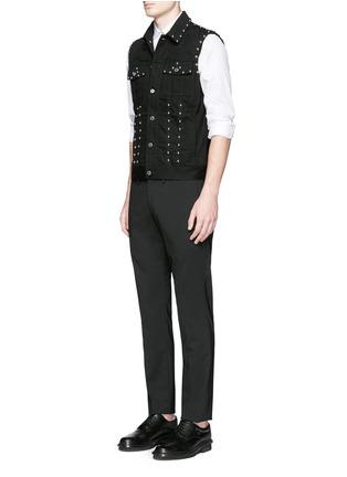 Figure View - Click To Enlarge - Givenchy - Stud denim vest