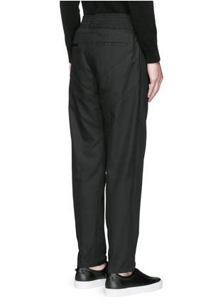 Back View - Click To Enlarge - Givenchy - Panelled jogging pants