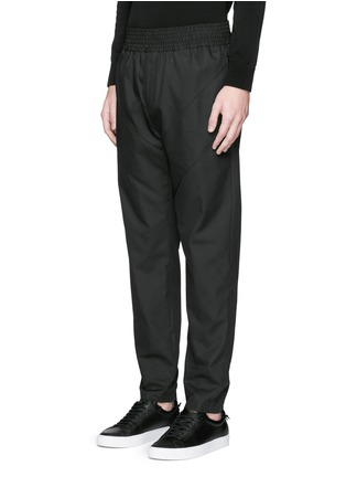Front View - Click To Enlarge - Givenchy - Panelled jogging pants