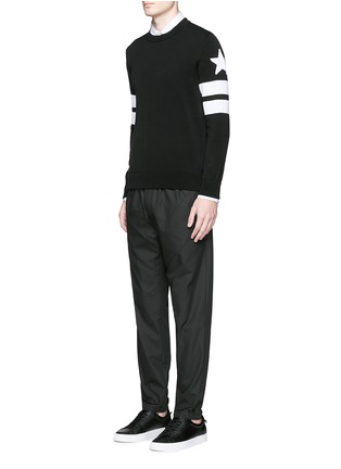 Figure View - Click To Enlarge - Givenchy - Panelled jogging pants