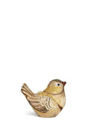 Back View - Click To Enlarge - Judith Leiber - 'Goldfinch' crystal pavé bird minaudière