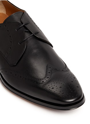 Detail View - Click To Enlarge - Rolando Sturlini - 'Alameda' brogue leather Derbies