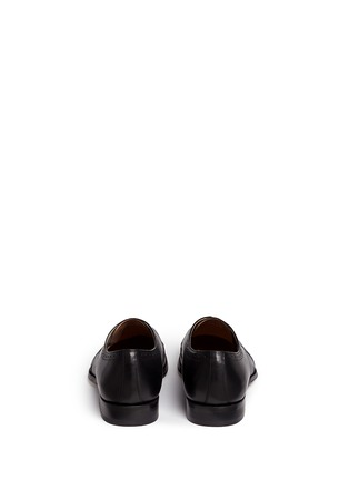 Back View - Click To Enlarge - Rolando Sturlini - 'Alameda' brogue leather Derbies