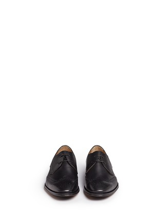 Front View - Click To Enlarge - Rolando Sturlini - 'Alameda' brogue leather Derbies
