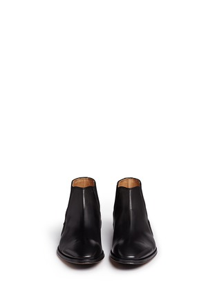 Front View - Click To Enlarge - Rolando Sturlini - 'Alameda' leather Chelsea boots