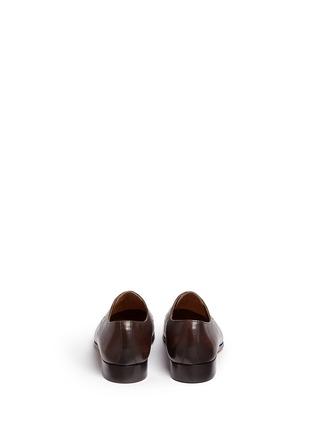 Back View - Click To Enlarge - Rolando Sturlini - 'Alameda' leather Derbies