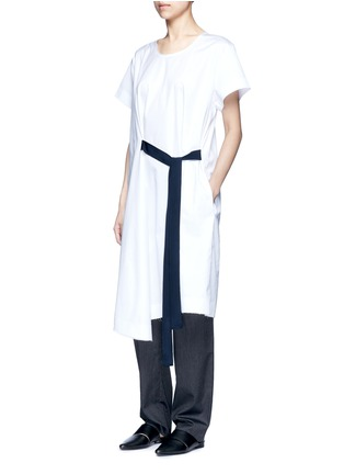 - FFIXXED STUDIOS - 'Wutong' pleated tencel unisex pants