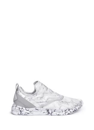 Main View - Click To Enlarge - Reebok - 'Furylite Stones Pack' print neoprene slip-on sneakers