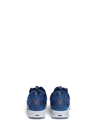 Back View - Click To Enlarge - Reebok - 'Instapump Fury SP' speckle print slip-on sneakers