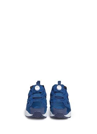 Front View - Click To Enlarge - Reebok - 'Instapump Fury SP' speckle print slip-on sneakers