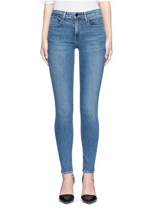 Detail View - Click To Enlarge - Alexander Wang  - 'Whip' washed slim fit jeans