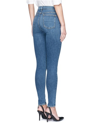 Back View - Click To Enlarge - Alexander Wang  - 'Whip' washed slim fit jeans