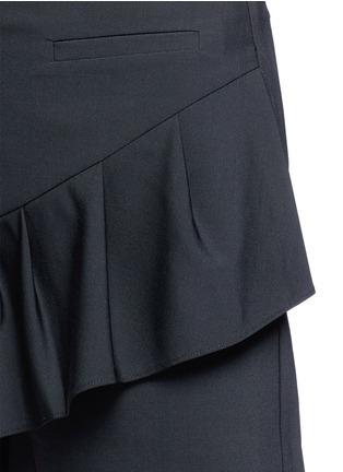 Detail View - Click To Enlarge - Tibi - Tropical wool pleated skort