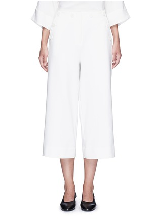 Main View - Click To Enlarge - Tibi - 'Anson' cropped wide leg sailor pants