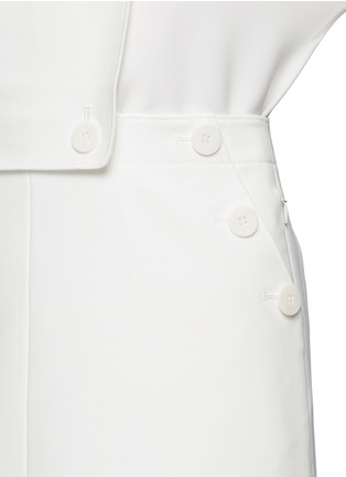 Detail View - Click To Enlarge - Tibi - 'Anson' sailor skirt overalls
