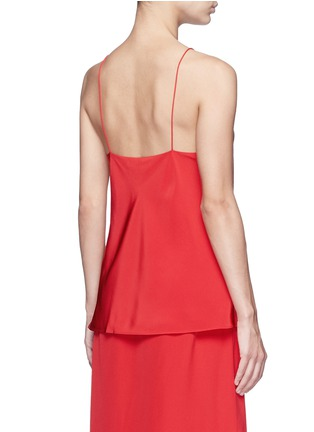 Back View - Click To Enlarge - Tibi - 'Kate' silk camisole crepe top