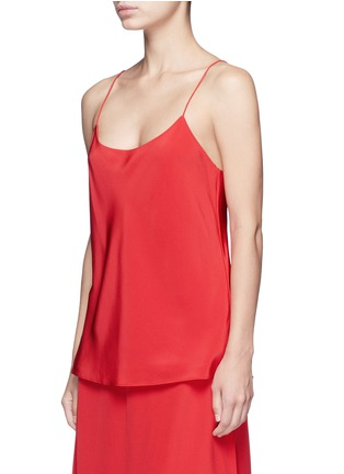 Front View - Click To Enlarge - Tibi - 'Kate' silk camisole crepe top