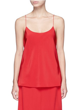 Main View - Click To Enlarge - Tibi - 'Kate' silk camisole crepe top