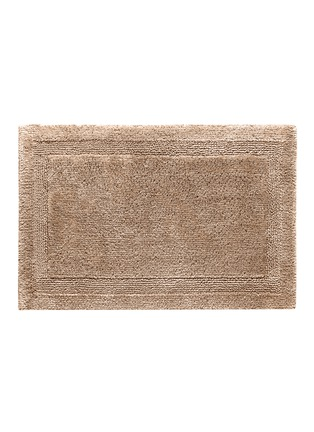 Main View - Click To Enlarge - Abyss - Super Pile large reversible bath mat — Taupe