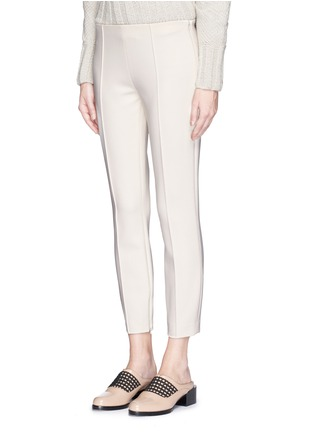 Front View - Click To Enlarge - The Row - 'Chandra' seam front stretch scuba cropped pants