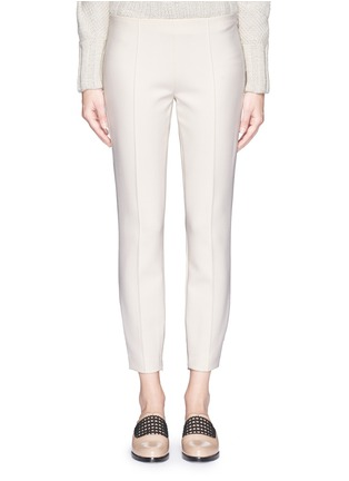 Main View - Click To Enlarge - The Row - 'Chandra' seam front stretch scuba cropped pants