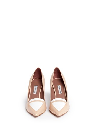Figure View - Click To Enlarge - TABITHA SIMMONS - Hayden leather pumps