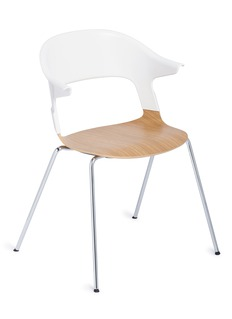 Republic of Fritz Hansen PAIR™ chair – White/Oak