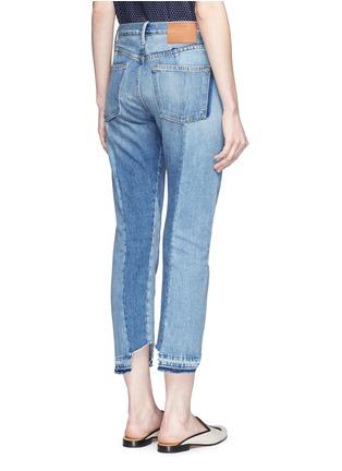Back View - Click To Enlarge - Frame Denim - 'Nouveau Le Mix' one of a kind jeans