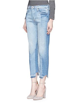 Front View - Click To Enlarge - Frame Denim - 'Nouveau Le Mix' one of a kind jeans