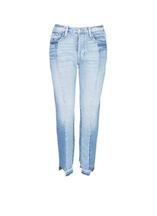 Main View - Click To Enlarge - Frame Denim - 'Nouveau Le Mix' one of a kind jeans