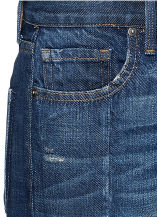 Detail View - Click To Enlarge - Frame Denim - 'Nouveau Le Mix' cropped jeans