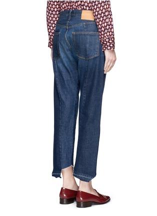 Back View - Click To Enlarge - Frame Denim - 'Nouveau Le Mix' cropped jeans