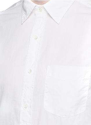 Detail View - Click To Enlarge - Alex Mill - 'Shore' patch pocket cotton shirt