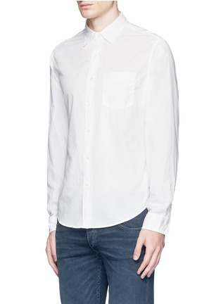 Front View - Click To Enlarge - Alex Mill - 'Shore' patch pocket cotton shirt