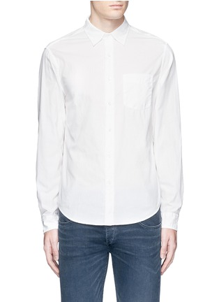 Main View - Click To Enlarge - Alex Mill - 'Shore' patch pocket cotton shirt