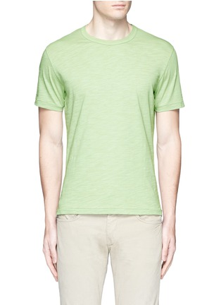 Main View - Click To Enlarge - ALEX MILL - 'Standard' cotton slub jersey T-shirt