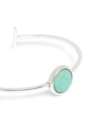 Detail View - Click To Enlarge - Philippe Audibert - 'Lozzi' agate stone bracelet