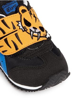 Detail View - Click To Enlarge - Onitsuka Tiger - x tokidoki 'California 78 TS' tiger appliqué toddler sneakers